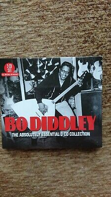 Bo Diddley Absolutely Essential 3 Cd Collection • 2.50£