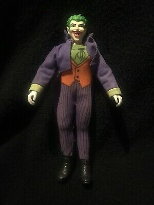 "Batman 1966 Tv Show Mego Vintage The Joker Action Figure 8"" 1974 • 15£"