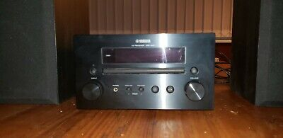 Yamaha CRX-550 CD Receiver/ Tuner. DAB. Including Gale Mini Monitor Speakers. • 34£