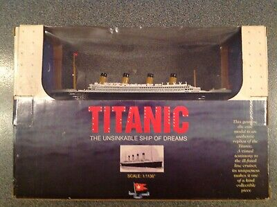 1998 Titanic Model The Unsinkable Ship Of Dreams By Claytown. • 12.99£