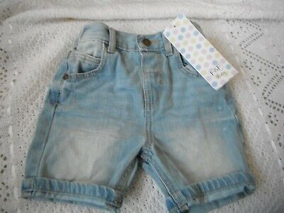 Baby Denim Shorts 9-12 Months  New With Tags  • 4.99£