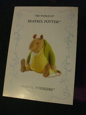 Beatrix Potter  Samuel Whiskers Toy  Doll Knitting Pattern • 9.99£