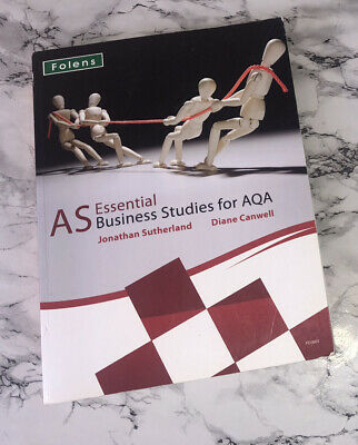 AS Essential Business Studies For AQA Book • 5£