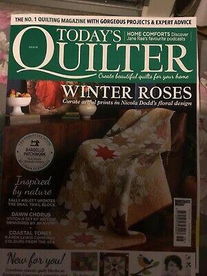 Todays Quilter Magazine Issue 58 • 0.99£
