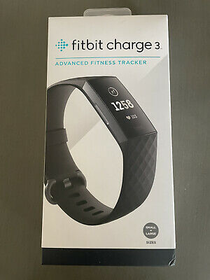 $ CDN51.90 • Buy Fitbit Charge 3 Fitness Activity Tracker - Graphite/Black - New In Original Pkg