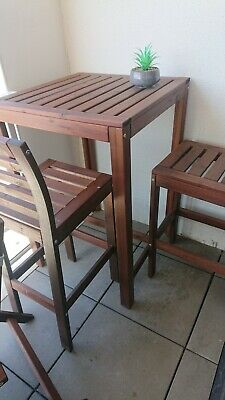 AU120 • Buy Ikea Outdoor Furniture - Applaro Bar Table And Chairs