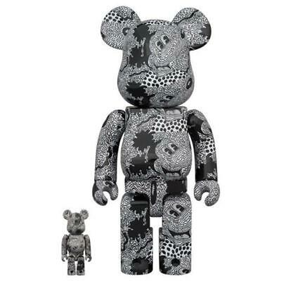 $358.84 • Buy Bearbrick Keith Haring Mickey Mouse 100 400