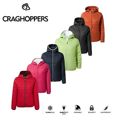 Craghoppers Women's Compresslite III Packaway Hooded Insulated Jacket. RRP £70 • 39.99£