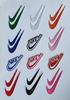 £1.99 • Buy Nike Brand Logo Iron On Patch Sew On Patch Embroidered Patch/Badge For Clothes
