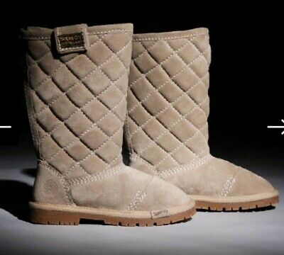 Gorgeous Women's Superdry Jetstream Sopwith Tan Suede Boots Size 4 (EU 37) • 68£
