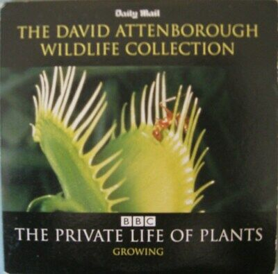 David Attenborough Dvd The Private Life Of Plants Growing Dvd Daily Mail    • 1.99£