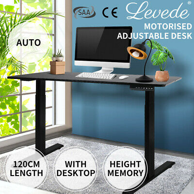 AU359.99 • Buy Levede Office Computer Desk Height Adjustable Sit Stand Electric Table Riser