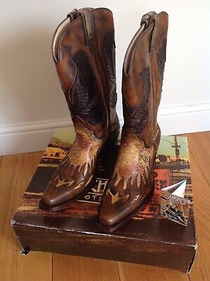 Sancho Men's Western Boots EU 45, UK 10.5 Style West Toronto New With Box • 247£