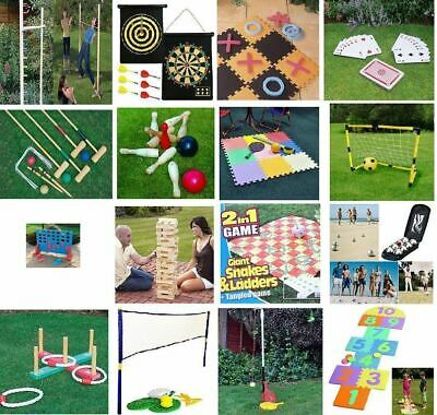 New Large Family Outdoor Party Games Summer Beach Bbq Party Kids & Adults • 7.95£