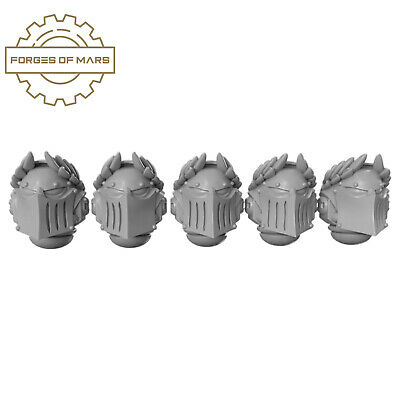 AU18.74 • Buy 40K SPACE MARINES - Primaris Helmets - Ascended Crusaders (x5)