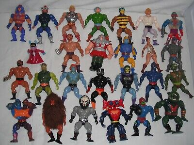 $350 • Buy The Masters Of The Universe 1980' Vintage Action Figure Toy Lot Of 26 By: Mattel