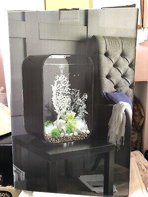 Biorb Life 60l Fish Tank - Intelligent 24hr LED (Black) • 240£