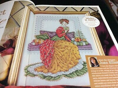 Victorian Lady By Joan Elliott Cross Stitch Chart L@@K (COLL 4) • 2.50£