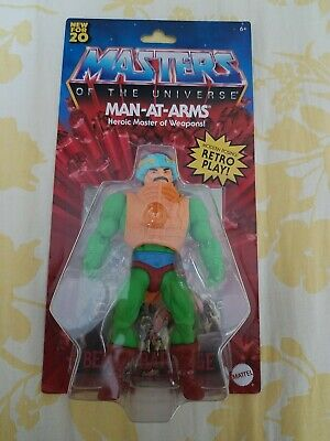 $19.99 • Buy New 2020 Masters Of The Universe Origins Man At Arms Figure Hard To Find!