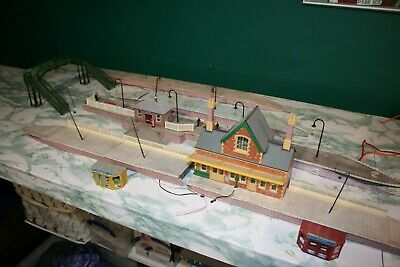 Hornby Railways Platform Sections Gauge 00 Lights Buildings Footbridge Job Lot • 2.20£