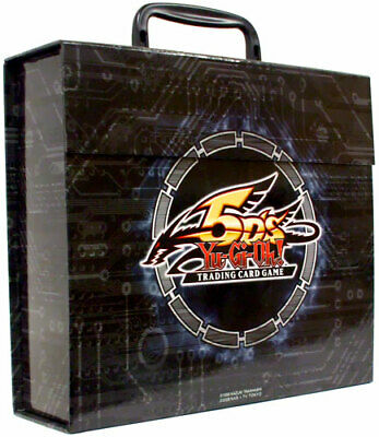 YuGiOh 5Ds Deck Carry Case Yusei 3 Duelist Pack Collection Tin 2011 X4 New • 99.99£