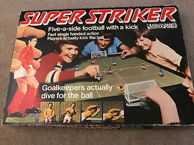 Super Striker Football Game Parker Brothers 1970s Boxed Complete. • 25.40£