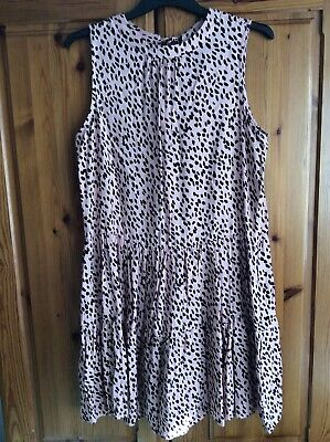 ANIMAL PRINT DRESS FROM NEW LOOK Size 10 • 7.50£