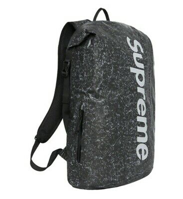 $ CDN258.83 • Buy *BRAND NEW IN HAND* BLACK SUPREME Waterproof Reflective Speckled Backpack FW20