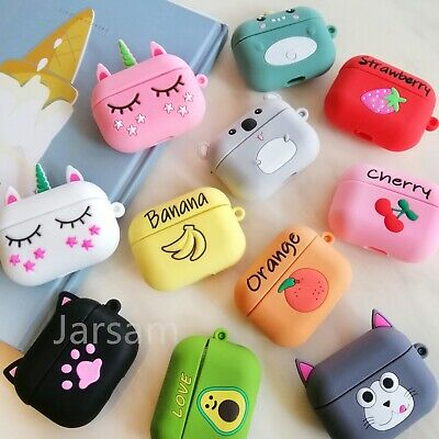 AU6.21 • Buy Cute Airpods Pro Case Silicon For Apple Airpods 3 Pro Cover Accessories Protect