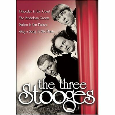 The Three Stooges Dvd  • 6£