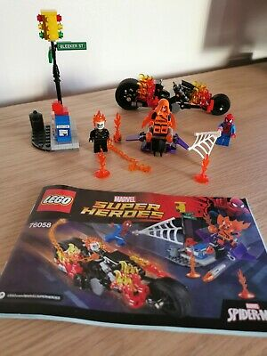 Lego Marvel Super Heroes 76058, Spiderman - Ghost Rider Team Up (complete}  • 9.99£