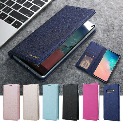 $ CDN8.27 • Buy Wallet Case For Samsung Galaxy S20 Ultra S10+ S9+ S8+Note10+ Magnetic Flip Cover