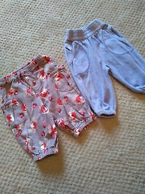 Boden And Katvig Trousers. 3-6 Months. Bundle. • 4£