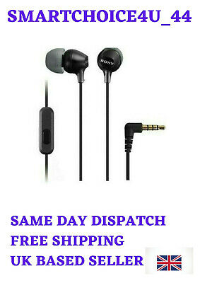 £12.99 • Buy Sony MDR-EX15AP Stereo Earphones Wired Earbud In-Ear Subwoofer Hands-Free -3.5mm
