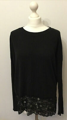 Miss Captain Trend Tortue Black Size T1 14 16 Knitwear Jumper Top • 3.80£