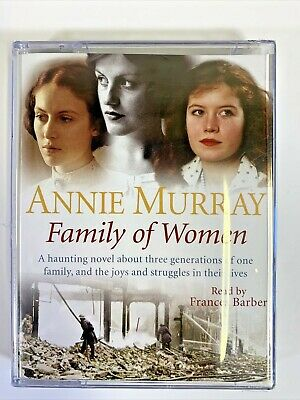 Audio Book Cassette Tape | ANNIE MURRAYS Family Of Women Read By Frances Barber • 7.95£