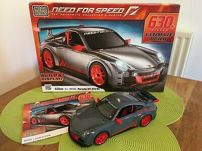 Mega Bloks Need For Speed Porsche 911 GT3 RS #95722 In Ex. Condition. • 15£
