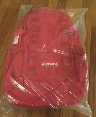 $ CDN323.54 • Buy Supreme Backpack FW20 Dark Red - Authentic SOLD OUT* SS20 Still SEALED