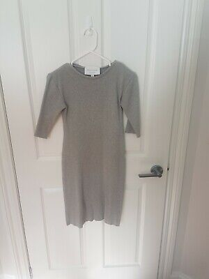 AU50 • Buy Viktoria And Woods Grey Rib Tshirt Dress Size 0