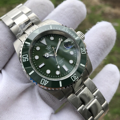 $ CDN174.82 • Buy Steeldive 1953 Diver Automatic Watch Men 41mm Green Dial Submariner Seiko NH35