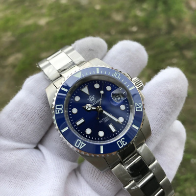 $ CDN174.82 • Buy Steeldive 1953 Diver Watch Men 41mm Blue Dial Submariner Seiko NH35 Automatic