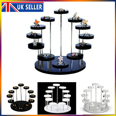 £11.99 • Buy Cupcake Stand Acrylic Display Stand For Jewelry Cake Dessert Rack Party Decor UK