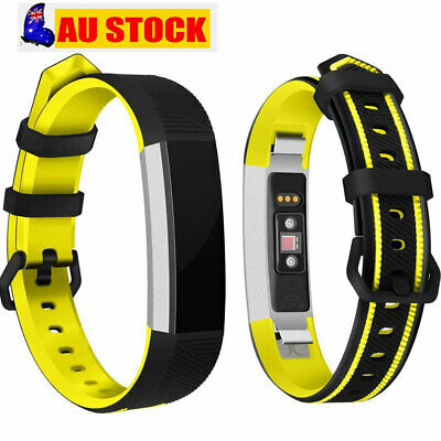 AU9.96 • Buy Silicone Replacement Wristband Wirst Strap Band For Fitbit Alta/Alta HR/Ace