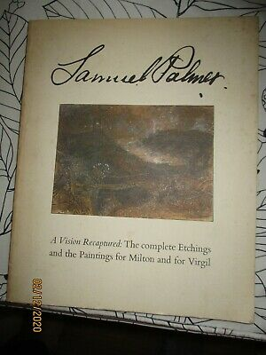 Samuel Palmer A Vision Recaptured No 612 Of Limited Edition • 12£
