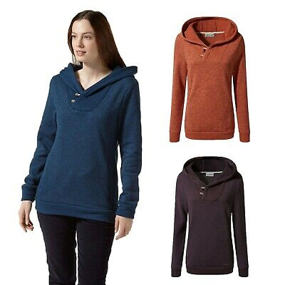 £29.99 • Buy Craghoppers Womens Roshven Insulated Hooded Fleece Jacket CWA225 RRP £45