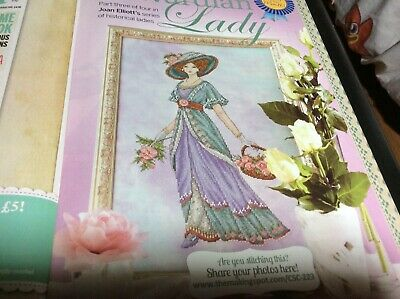 Edwardian Lady By Joan Elliott Cross Stitch Chart L@@K (COLL 28) • 2.50£