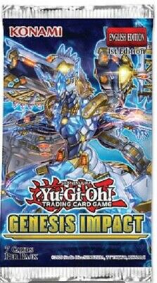 Yu-Gi-Oh! Genesis Impact Booster Pack (Single Sealed Pack) • 3.45£