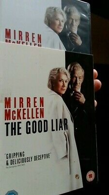 The Good Liar [2019] (DVD) Helen Mirren, Ian McKellen, Russell Tovey, Jim Carter • 2.99£