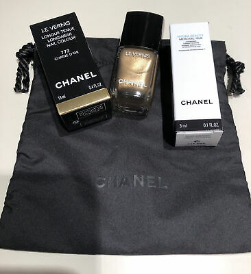 CHANEL LE VERNIS 773 Chaine D'or Christmas Holiday 2020 Limited Edition • 22£