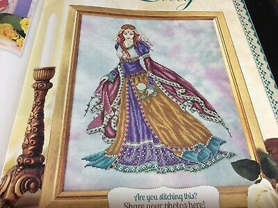 Medieval Lady Cross Stitch Chart L@@K (COLL 42) • 2.50£